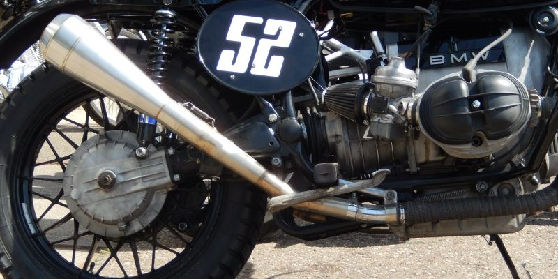BMW R100 Scrambler UPDATE